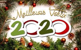Meilleurs vœux  pour cette nouvelle année 2020 !