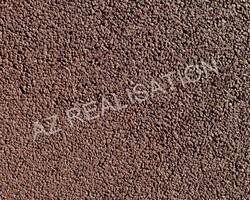 AZ REALISATION - Paulhan - Béton drainant coloré : ECORCE